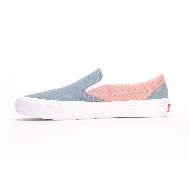 0aca2242d806 Vans Slip-On Pro (Goblin Blue Mahogany Rose) Men s Skate Shoes-7.5   Amazon.co.uk  Shoes   Bags