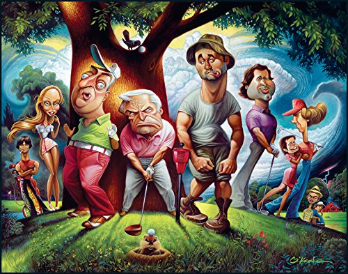 Bushwood. A Tribute To Caddyshack Fine Art Print 22