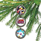 Bingo Lovers Bottlecap Ornament