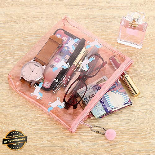rn Make Up Bag Transparent Case Cosmetic Travel Organizer Pouch | Style TRVIHR-11292236 ()