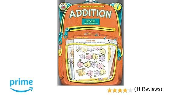 Addition, Grade 1 (Homework Helper): Frank Schaffer Publications ...