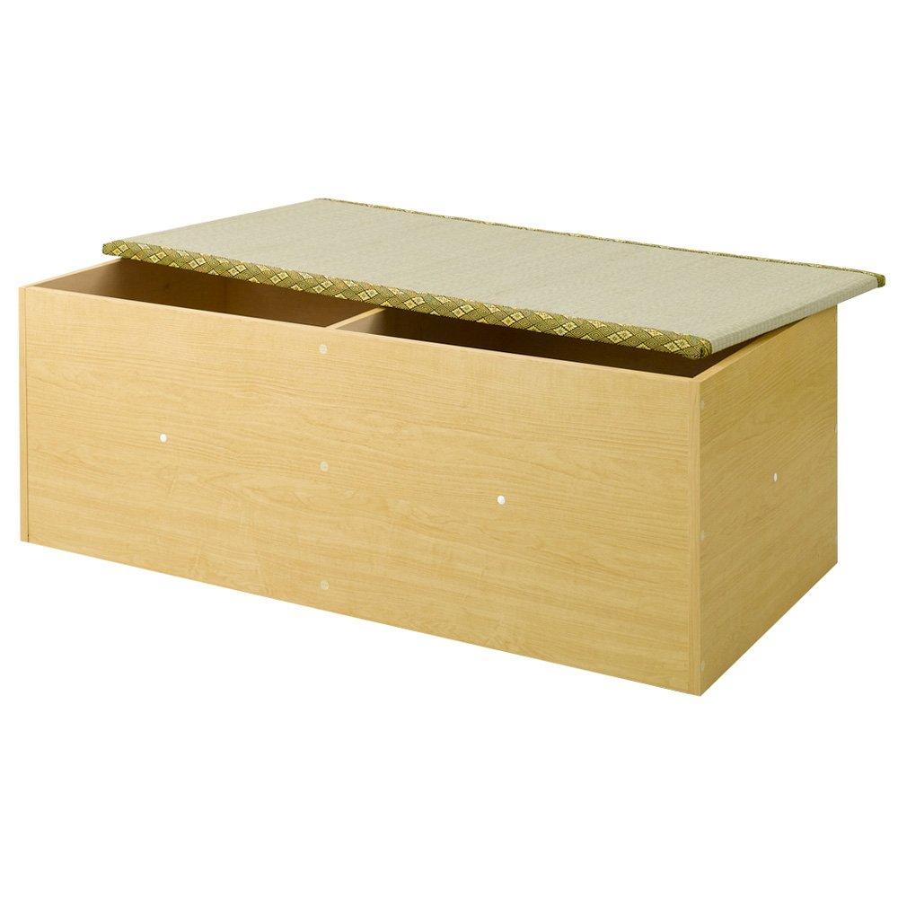ユニット畳シリーズ 1畳 高さ31cm 691103(サイズはありません イ:ライトブラウン) B07MB5DG3T イ:ライトブラウン
