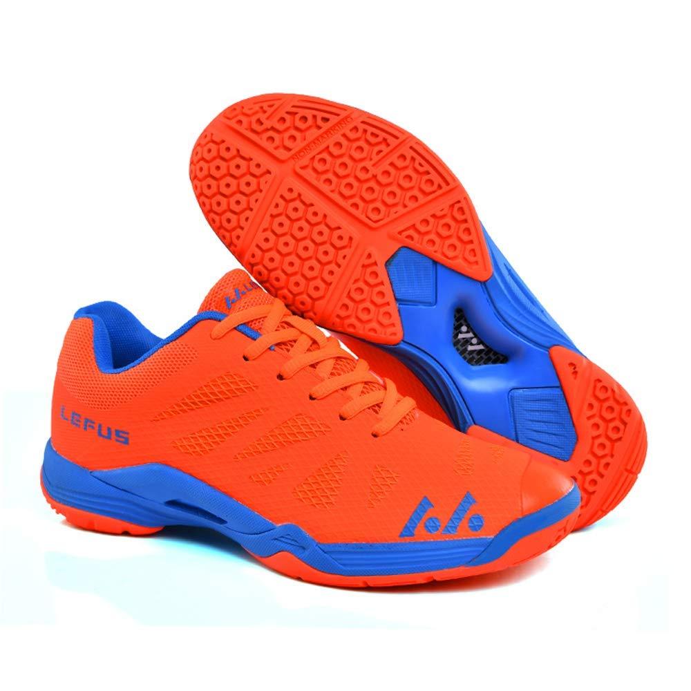 YPPDSD Badminton Racquetball Squash Volleyball Indoor Chaussures pour Hommes Semelle antid/érapante et l/ég/ère con/çue pour Le Jeu de Jambes Rapide,A,36