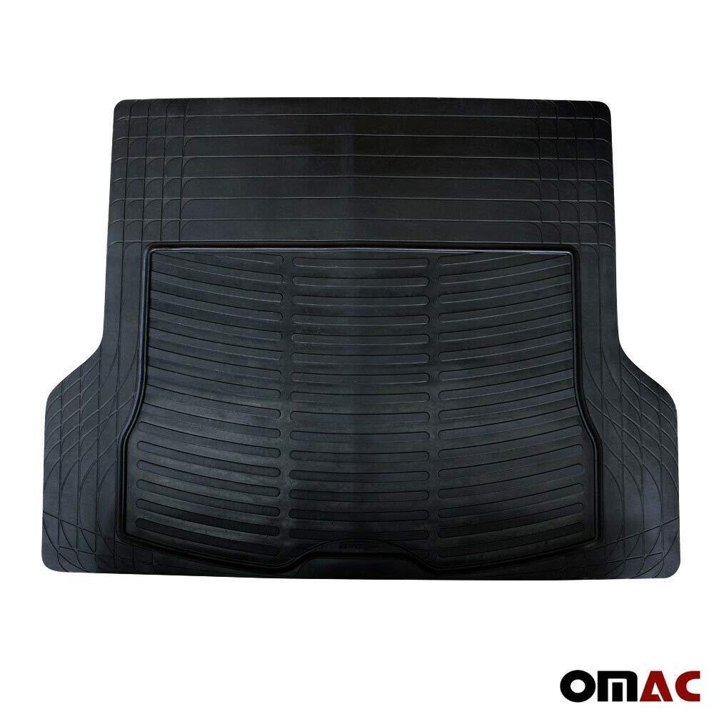 Nero OMAC GmbH Colore Tappetino Antiscivolo in Gomma per Bagagliaio per XC60