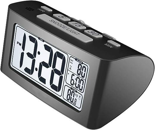 FDGBCF Temporizador Nap Reloj Despertador Digital rápida ...
