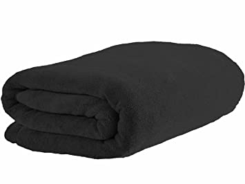 Simplife Microfiber Luxury Black Bath Towels Large Bath Sheets Beach Towels  Fast Drying Camping Towels (