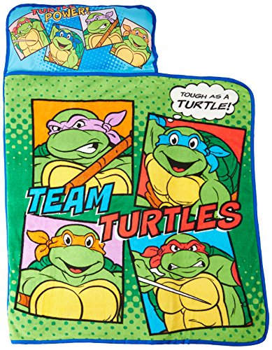 Teenage Mutant Ninja Turtles Toddler Nap Mat, Green
