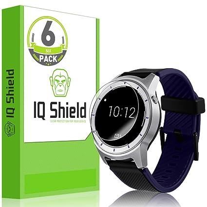 IQ Shield Screen Protector Compatible with ZTE Quartz (SmartWatch)(6-Pack) LiquidSkin Anti-Bubble Clear Film