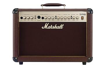 Amazon Com Marshall Acoustic Soloist As50d 50 Watt Acoustic Guitar
