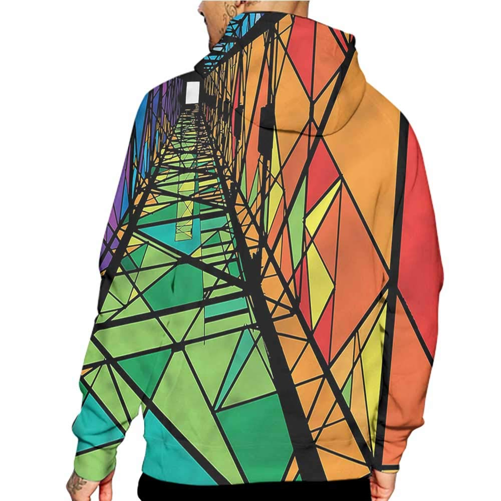 Unisex 3D Novelty Hoodies Abstract,Striped Pattern Polka Dots,Sweatshirts for Women