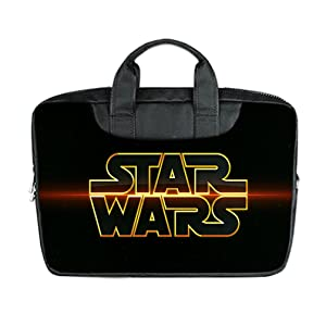 INSTALL AND EASY TO CARRY Wear& Slim &Dapper Star Wars Poster Custom Waterproof Nylon Bag for Laptop 15 Inches(Twin sides)