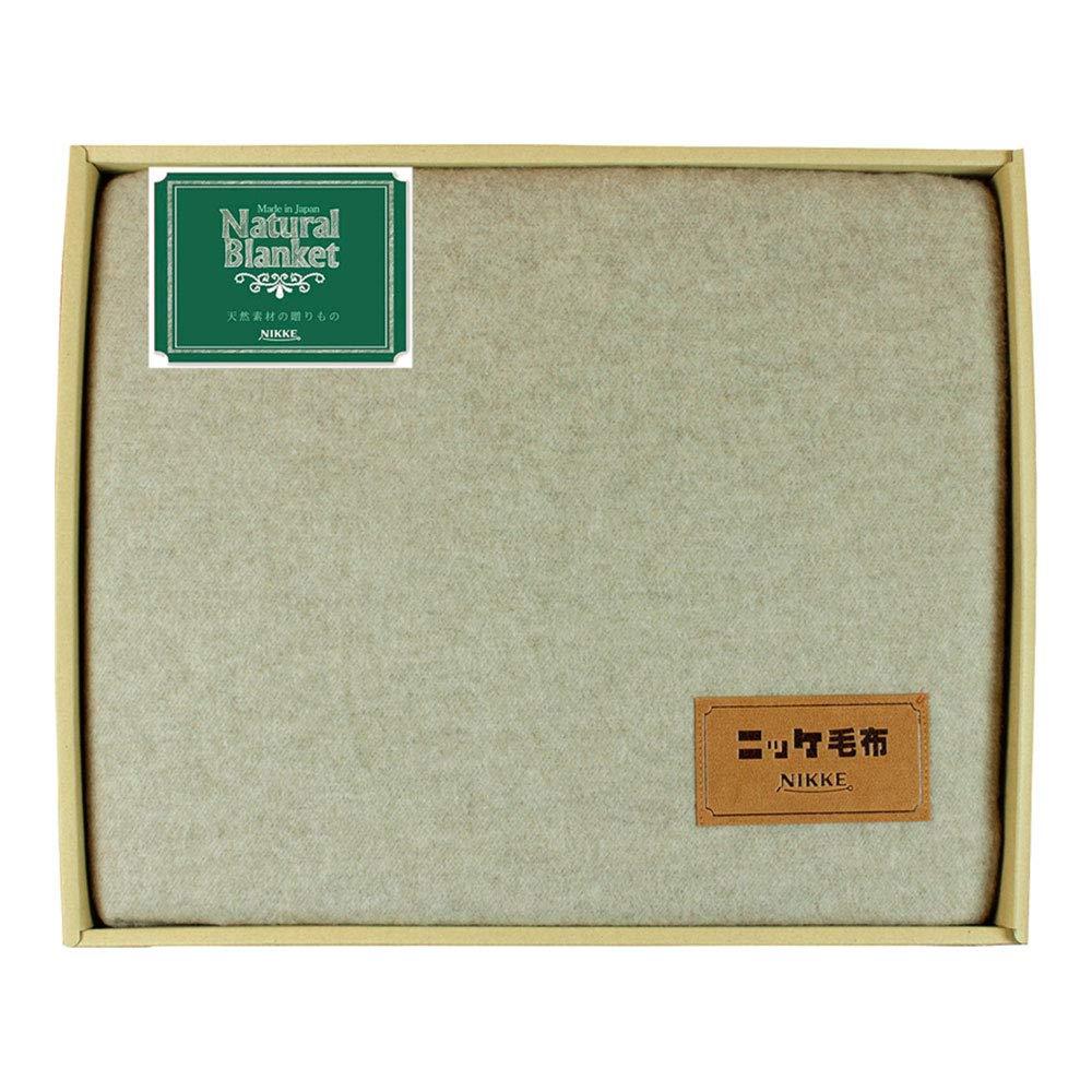 ニッケ カシミヤ糸使用毛布 CASH860008 B07PFSLKBJ
