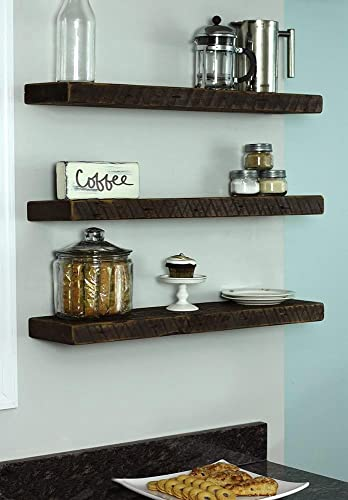 Amazing Amazon Com Reclaimed Wood Floating Shelf Wall Shelf Download Free Architecture Designs Rallybritishbridgeorg