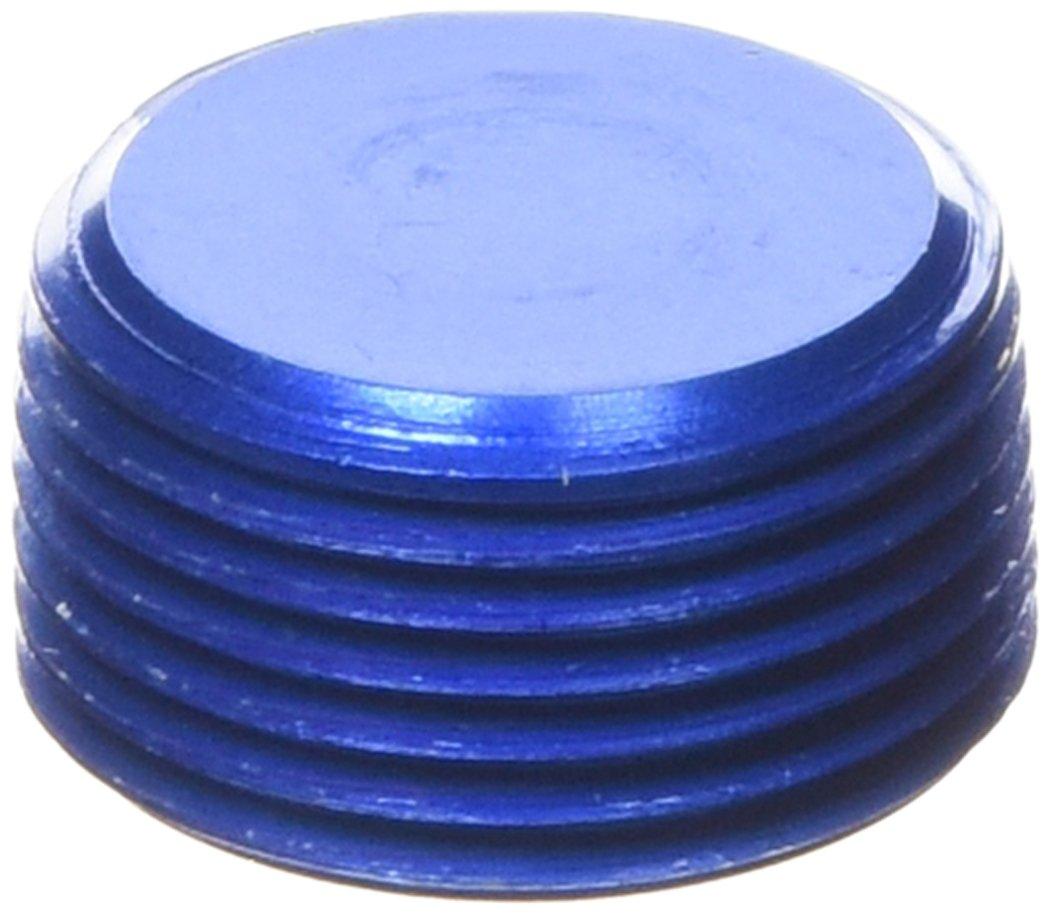 Aeroquip FCM3750 Blue Anodized Aluminum 3/4 NPT Allen Head Pipe Plug