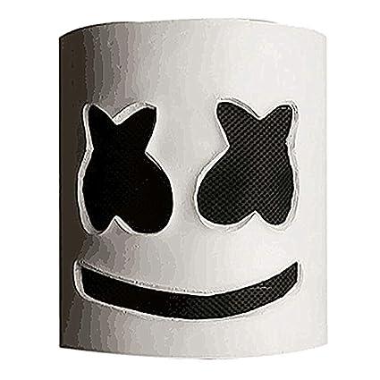 Amazon Com Papaxiong Marshmello Dj Party Mask Full Head Helmet