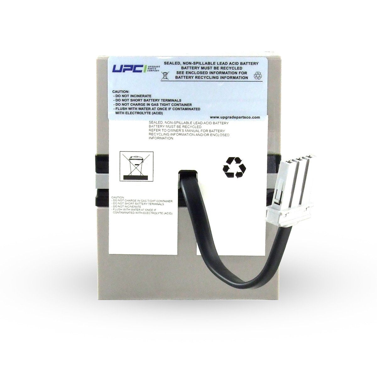 UPC RBC33 Replacement Battery Cartridge
