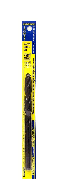 Eazypower 86783 Bulk 135-Degree Split Point Black Oxide Industrial HSS Drill Bits 15//32-Inch