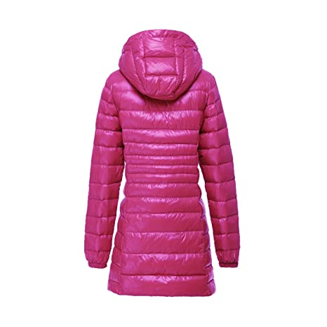 Amazon.com: Winter Hooded Down Jacket Women Long Coat Down Jackets Coats: Clothing