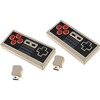 2 Manette de Jeu pour Nintendo NES Contrôleur sans fil Mini NES Classic Edition