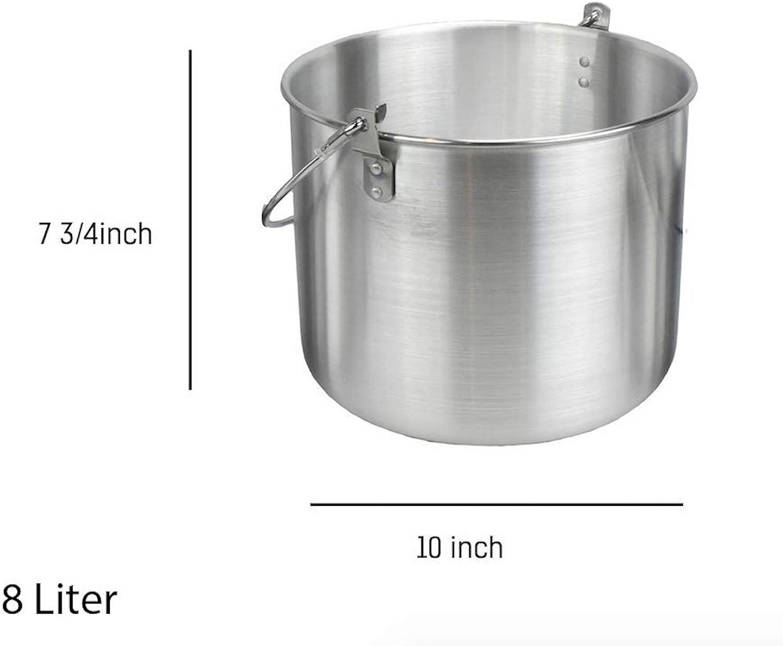 8 Liter Aluminum Tribal Pot by AceCamp