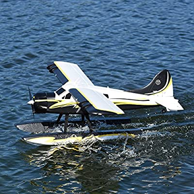 "FMS Beaver RC Airplane 2000mm (78"") Wingspan with Flaps LED Water Plane (without Float) PNP (No Radio, battery, charger)"