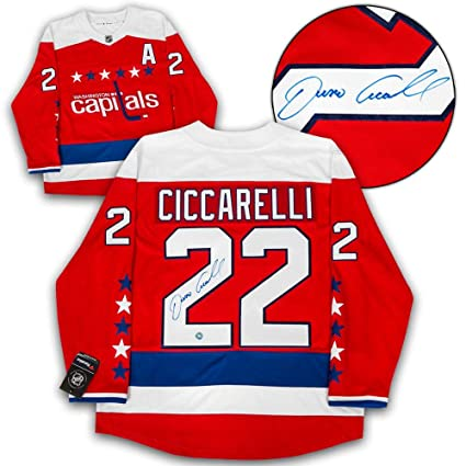 Image Unavailable. Image not available for. Color  Dino Ciccarelli  Autographed Jersey ... 9f0348bf7d3