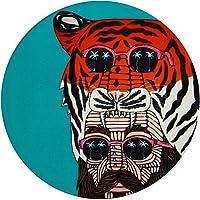 Maxwell & Williams Mulga The Artist Ceramic Round Coaster 10.5cm Tiger Man