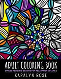 Adult Coloring Book: Stress Relieving Designs for Relaxation Volume 2 (Stress Relieving Coloring Books)