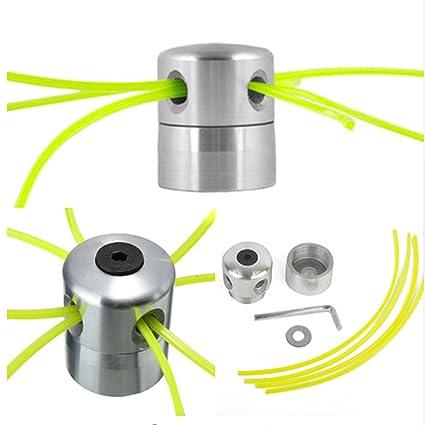 Amazon.com: meolin cortadora de césped cabeza de aluminio ...