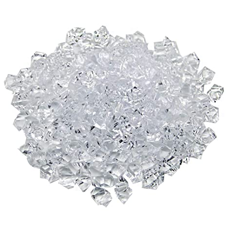 Aketek Translucent Clear Acrylic Ice Rocks For Vase Fillers Or Table Scatters by Generic