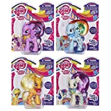 My Little Pony Cutie Mark Magic 4-Pack - Rainbow Dash, Princess Twilight Sparkle, Applejack, and Sweetie Drops