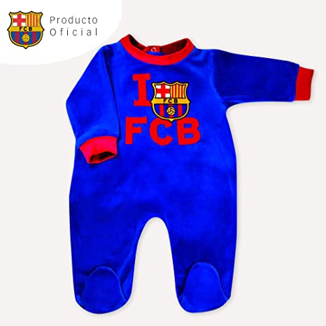 Pijama Fútbol Club Barcelona: Amazon.es: Bebé