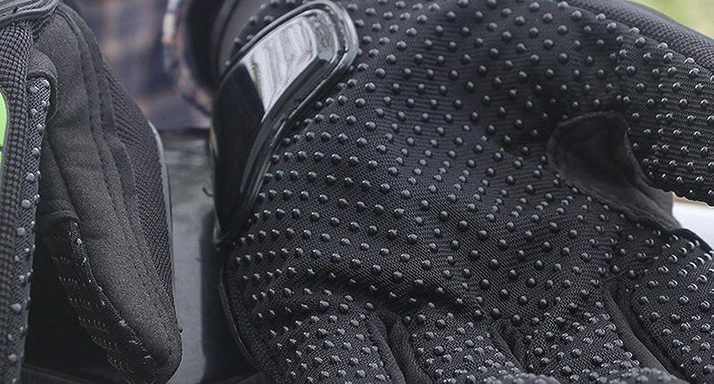 Tomwell Guanti Moto Antiscivolo Touch Screen Tattici con Antiurto Allaperto Equitazione Guanti Locomotiva Cavaliere Guanti All-dita Guanti Racing