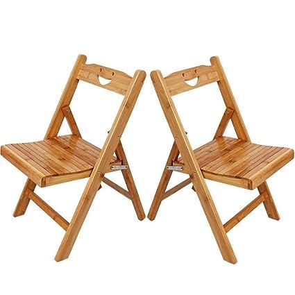 Amazon.com: Asunflower Kids Folding Chair Set, Space Saver Wooden