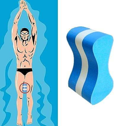 OKMINIOK Correct Flotador de Espuma para natación, para Tirar, flotación acuática, Ejercicios,