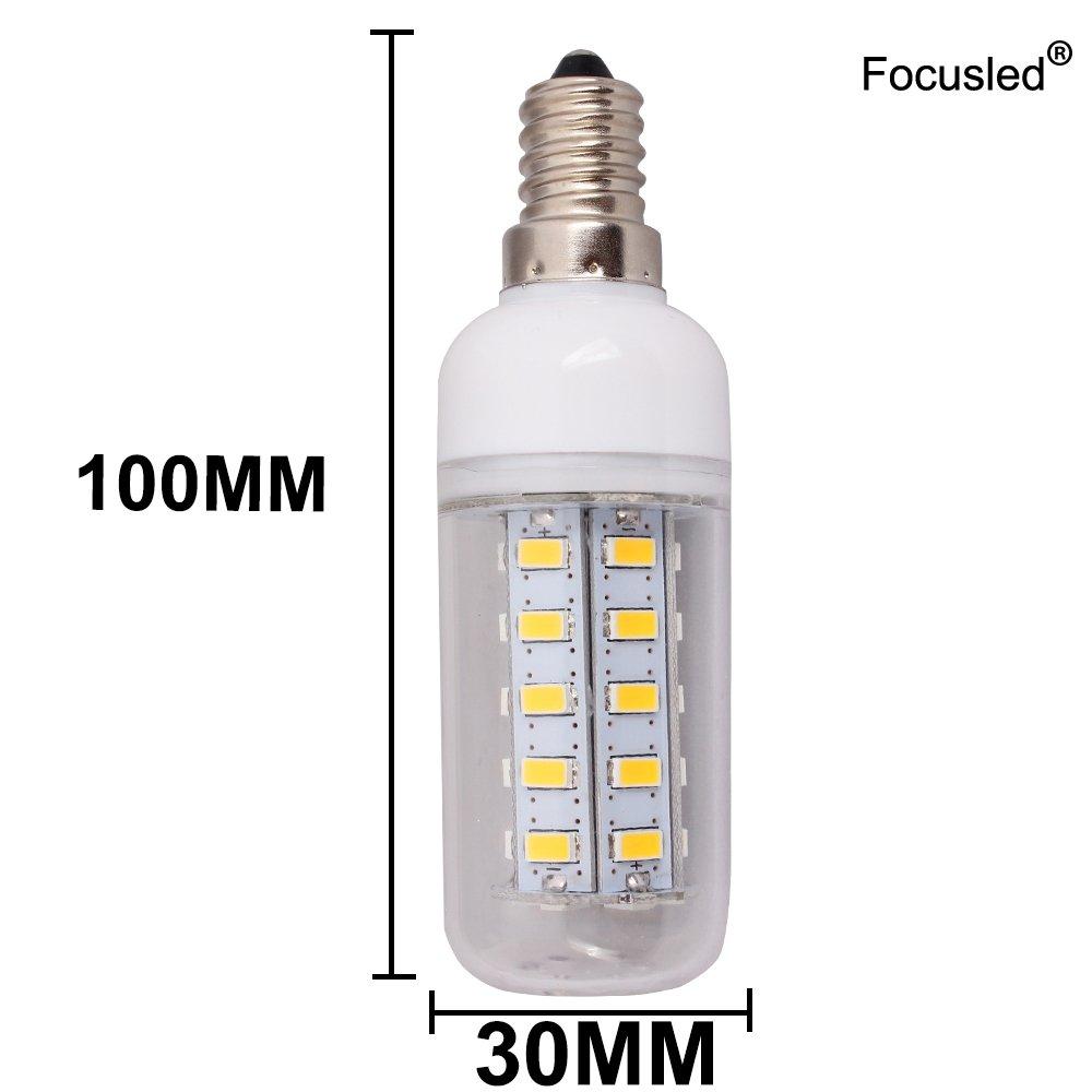 Focusled Bombilla E27 SMD 36 LEDs Foco Spotlight Blanco 7 Watt AC ...