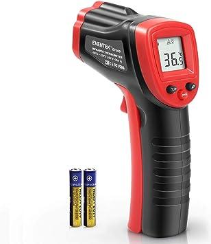 Infrarot Thermometer Eventek Ir Laser Thermometer Berührungslose 50 C 550 C 58 F 1022 F Digitale Temperaturpistole Nicht Medizinisch Nicht Für Den Menschlichen Körper Um Die Temperatur Zu Messen Baumarkt