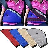 [4 Pack] Eximtrade Car Children Toddler Seat Belt Safety Harness Reposition Strap Positioner (Blue)