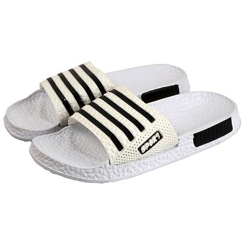 344138f86b21 Falcon18 Men s Rubber Slide Slippers and Flip-Flops  Buy Online at ...