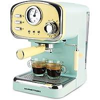 GOURMETmaxx Máquina de café expreso con colador eléctrico