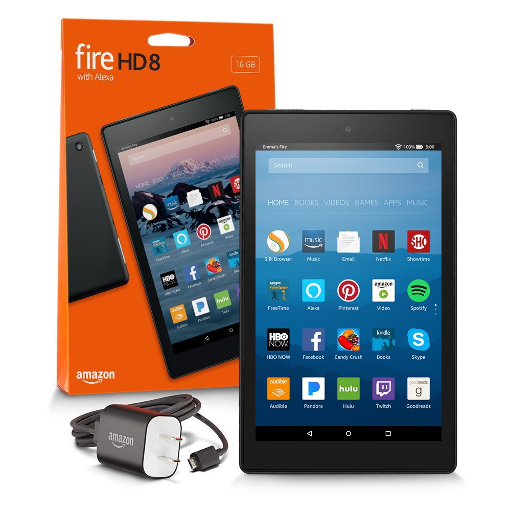 Certified Refurbished Fire HD 8 Tablet with Alexa, 8'' HD Display, 32 GB, Black - with Special Offers by Amazon (Image #8)