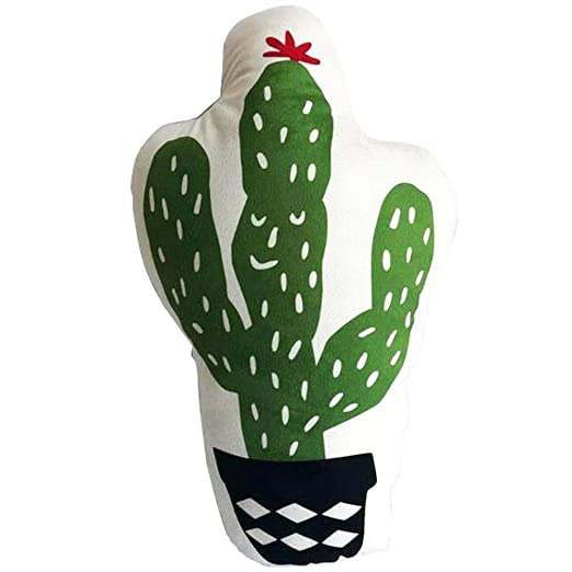 PYHQ Tropical Cactus Cojines Throw Almohadas Algodón Suave ...