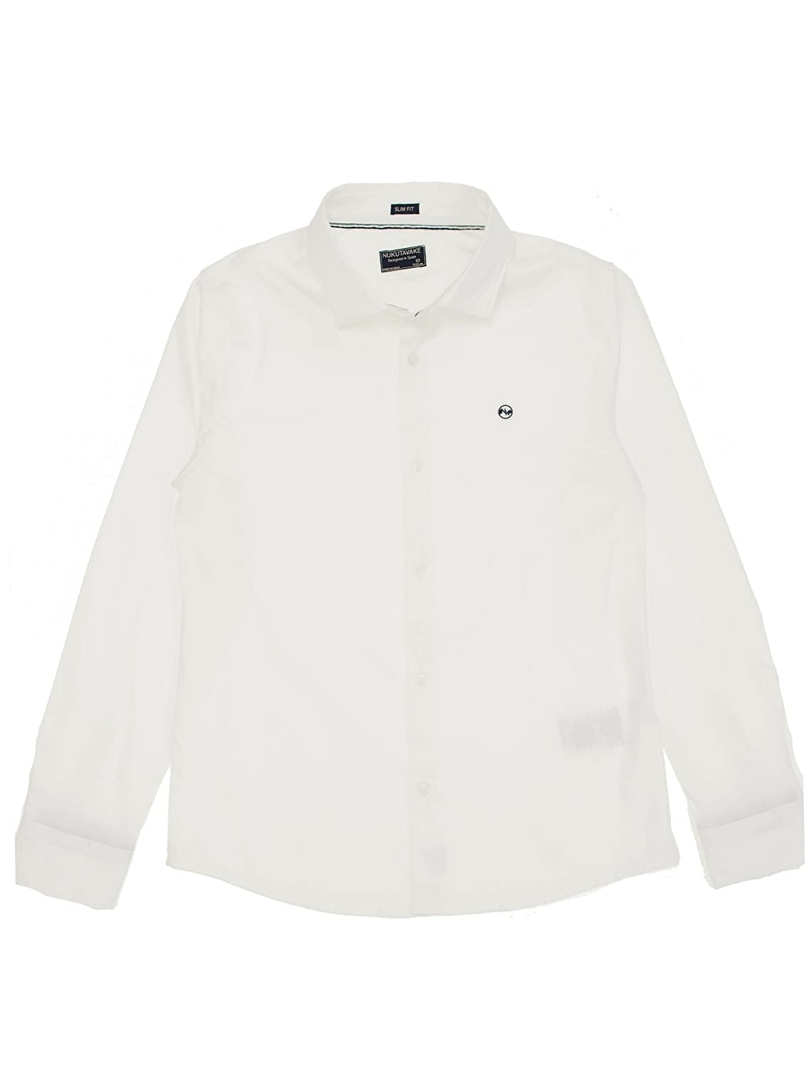 L//s Stretch Shirt for Boys White 6160 Mayoral