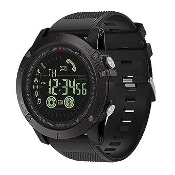 LILICAT Montre Connectée Smartwatch Bluetooth,Bracelet Connecté Podomètre Femme Homme Enfant étanche IP67 Montre Cardiofréquencemètre GPS Sport Smartwatch ...