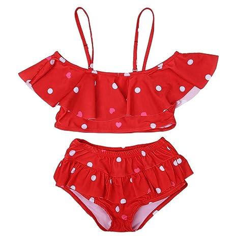 Bikini para bebés Bebé Bañador infantil Playa Traje de baño ...