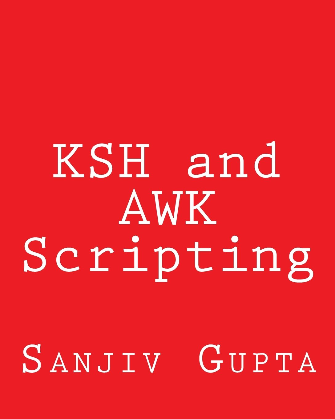 Ksh and Awk Scripting