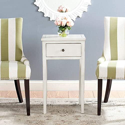 Safavieh American Homes Collection Abel Off-White Birch End Table