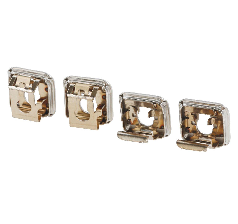 SpareHome Set de 4Douilles universelles pour fours, avec ou sans pyrolyse, compatibles avec Bosch, Siemens, Balay, Neff et Gaggenau