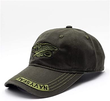 WOFDDH Gorra De Beisbol,Navy Seal Cap Hat Snapback Táctico del ...