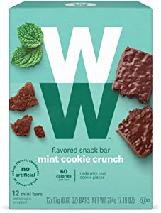 Weight Watchers Mini Bars, Mint Cookie Crisp, 12 bars per box